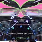 decoracion futurosta espacial la luna teatro kapitalteatro kapital