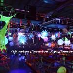 Decoracion Festivales Alquiler Estrellas Hinchables  y esferas o bolas con luz interna Maripocreative