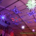 Decoracion Futurista Maripocreative Uv Decor Elementos originales de Decoración para evento ,festivales presentacion de marcas y celebraciones con luz negra
