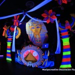 Tematica Egipto Maripocreative Decoración Flúor Uv Decor