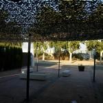 alquiler Toldo red de camuflaje Maripocreative 10 m x 10 m