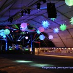 Decoracion Carpa Interpeñas Zaragoza Por Maripocreative Flúor UvDecor