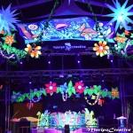 Decoracion fluor Maripocreative Uv Decor Elementos originales de Decoración para evento ,festivales presentacion de marcas y celebraciones con luz negra el arbol de la vida fluor