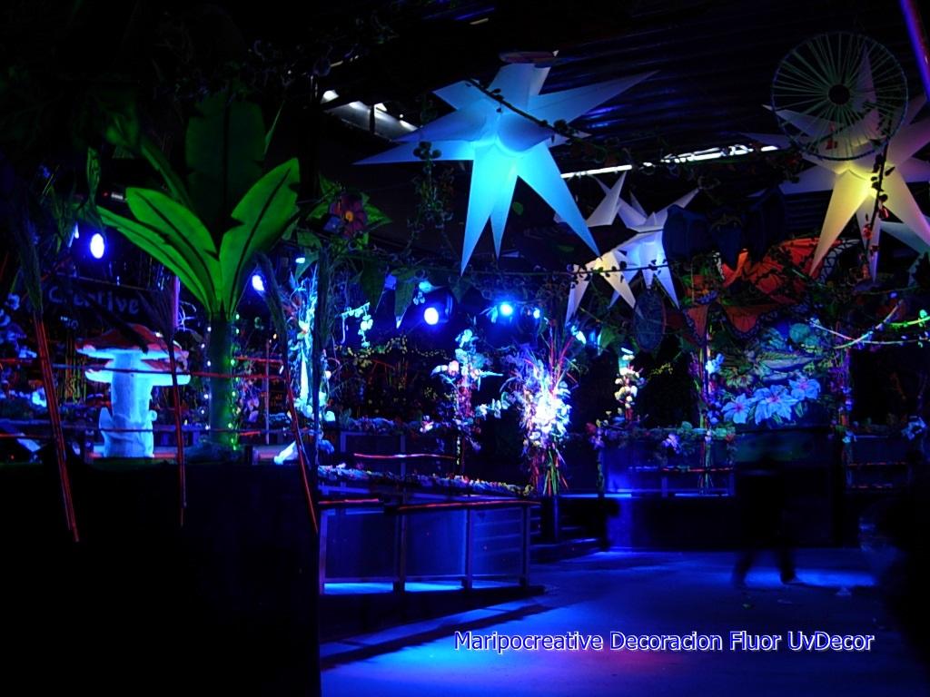 Decoracion de eventos Tematica El bosque encantado Fluor