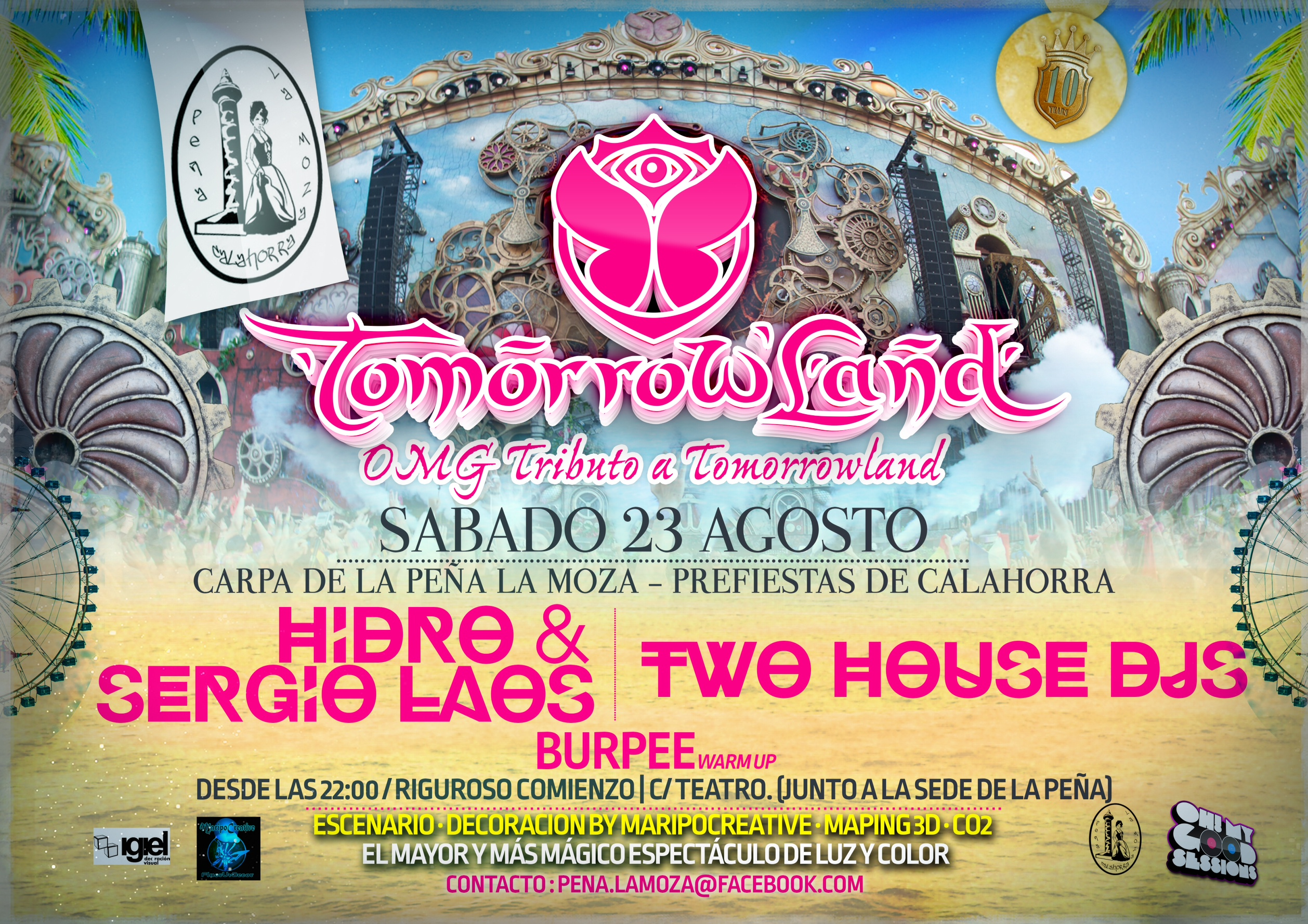 Tomorrowland Peña la moza & Maripocreative