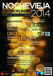 Noche vieja 2015 Huesca Maripocreative