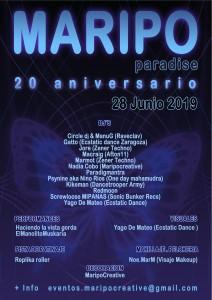Maripo summer paradise 20º aniversario