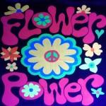 Decoracion para eventos Flower power Maripocreative.